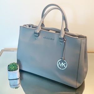 Michael Kors Grey medium satchel Very Clean